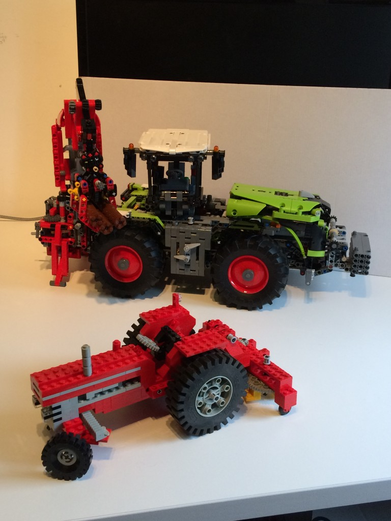 Lego Technic tractors